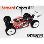 FIGHTER CLEAR BODY FOR SERPENT COBRA S811
