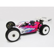 FORCE CLEAR BODY FOR X-RAY XB808 2011 spec