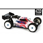 FORCE 2.0 CLEAR BODY FOR  TEAM ASSOCIATED RC8.2