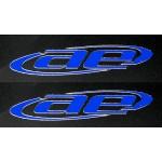 AE Blue Embossed Logo Sticker