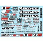 RC10B5 Series Decal Sheet