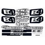 RC10B4 Logo Decal Sheet