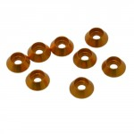 3 mm. ALU. CAP HEAD WASHER GOLDEN (8pcs.)