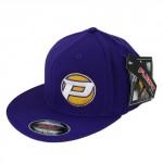 PROCIRCUIT ORIGINAL FLEXFIT FLATPEAK CAP PURPLE SIZE S/M