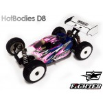 FIGHTER CLEAR BODY FOR HOT-BODIES D8
