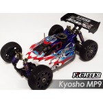 FIGHTER CLEAR BODY FOR KYOSHO MP9