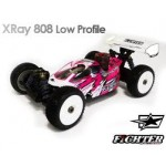 FIGHTER CLEAR BODY FOR X-RAY XB808