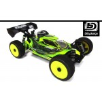 FORCE CLEAR BODY FOR JQ PRODUCTS THE CAR YELLOW EDITION