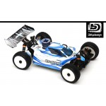 FORCE CLEAR BODY FOR JQ PRODUCTS THE CAR WHITE EDITION
