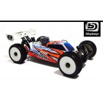 FORCE 2.0 CLEAR BODY FOR TLR EIGHT 2.0   2.0EU   3.0