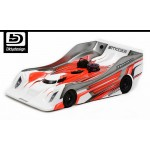 MONZA L8 CLEAR BODY 1/8 ON-ROAD LIGHT WEIGHT (0,75mm)